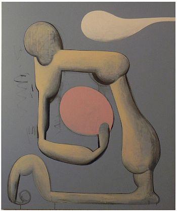 Mark Braunias, Bleeding Heart Liberal, 2011, acrylic on canvas,
