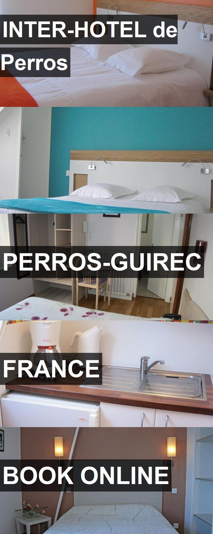 INTER-HOTEL de Perros in Perros-Guirec, France. For more information, photos, reviews and best prices please follow the link. #France #Perros-Guirec #travel #vacation #hotel