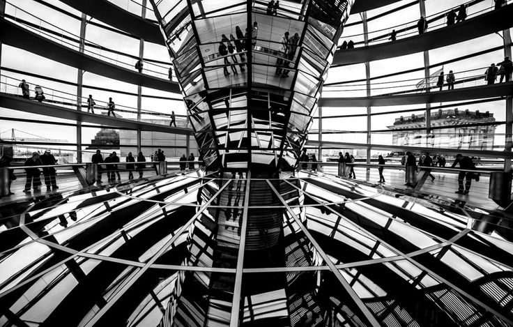 Reichstag Dome by Andrés Lora Bastidas on 500px