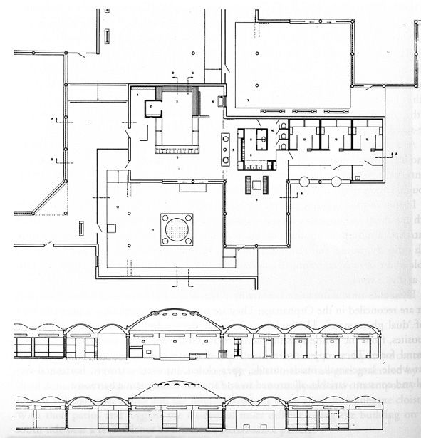 136 best Architecture plans elevations sections and details