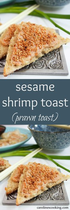Sesame shrimp pasta recipe