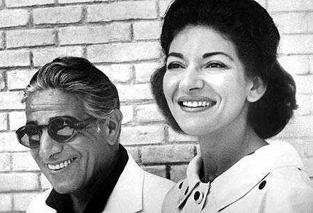 Maria Callas y Aristóteles Onassis, un romance de ópera pura