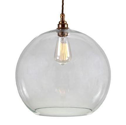 Show details for Eden 35cm Clear Sphere Pendant