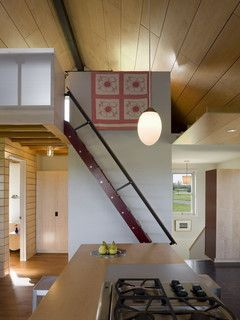 Yum Yum Farm Ladder - farmhouse - staircase - other metro - by DeForest Architects
