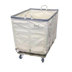 6 Bushel Laundry Basket on Wheels - Steele