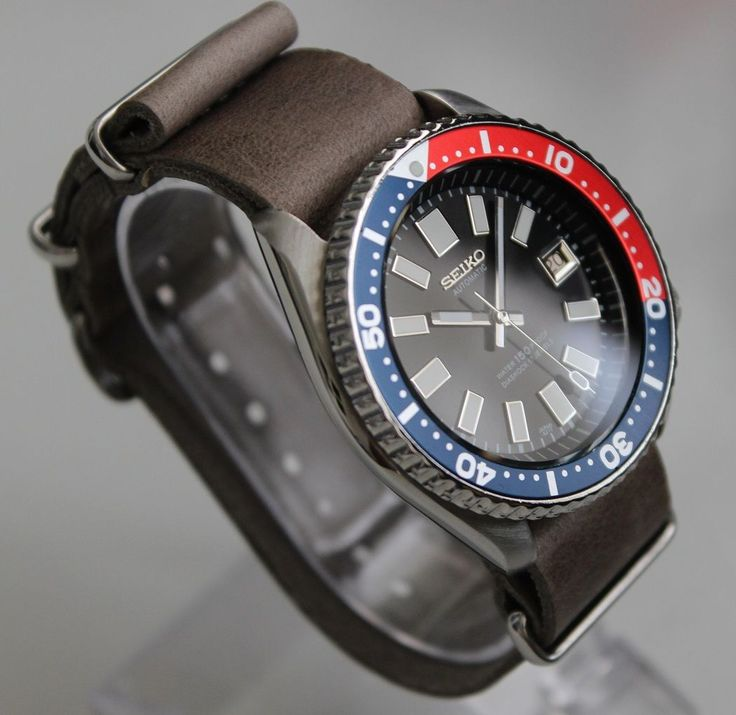 #Seiko #7002-7000 vintage dive watch #classic 6217 diashock automatic leather pep,  View more on the LINK: http://www.zeppy.io/product/gb/2/201660717089/