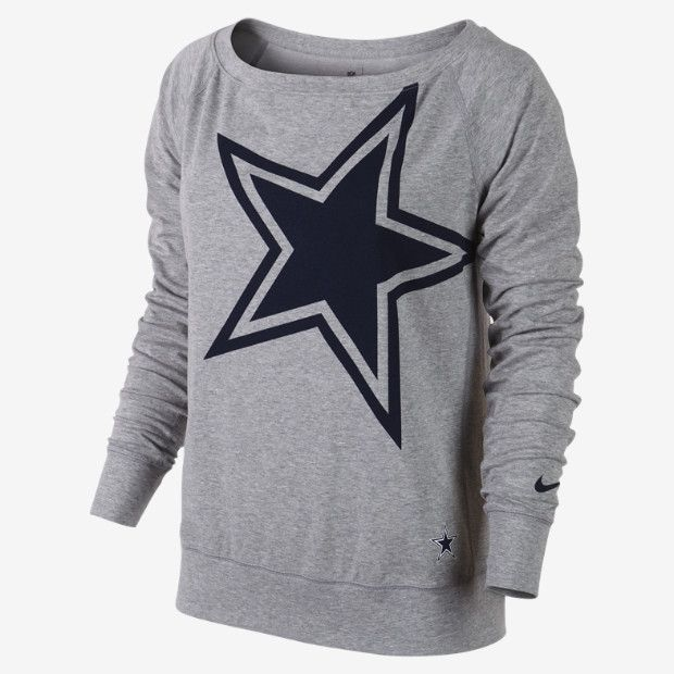 Dallas Cowboys Women's Sweatshirt, to go with a nice pair of Dallas sweat pants!