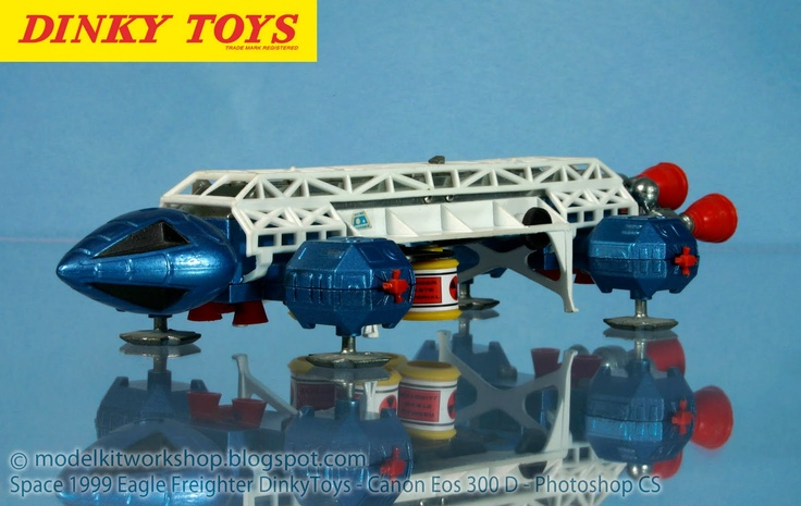 The Space 1999 Dinky Toy was just amazing