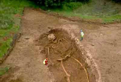 Giant Skeleton found in Saudi Arabia