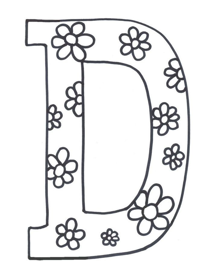 Alphabet Coloring Pages A Z Pdf From Learning Alphabet Coloring Pages For Kids On This Page You Can Teach Your Children Reading It Is Because There Is A Coll In 2020