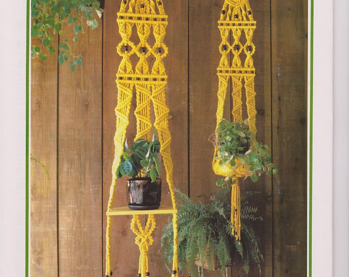25 Unique Macrame Plant Hanger Patterns Ideas On