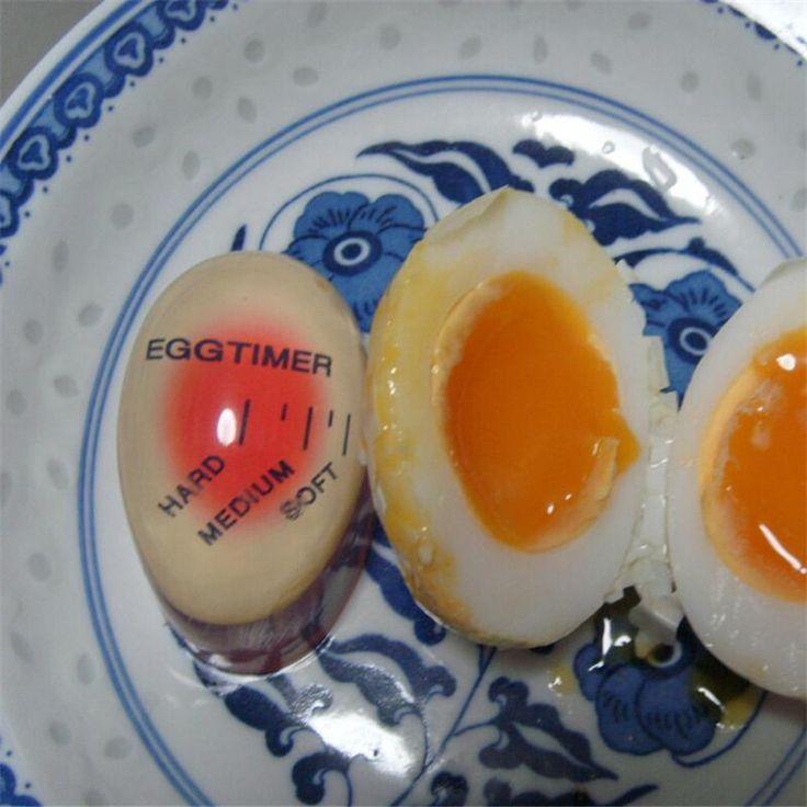 Высокое Качество 1 шт. Вкусный Мягкий Яйца Вкрутую Яйцо Perfect Color Changing Таймер Кулинария Кухня купить на AliExpress