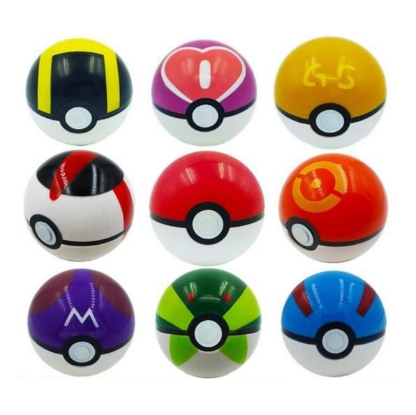 Toys - Pokemon Ball Anime Action Figures PokeBall Toys