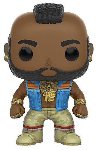 From The A-Team B.A. Baracus as a stylized POP vinyl from Funko! Figure stands 3 3/4 inches and comes in a window display box. Check out the other A-Team figures from Funko! Collect them all!....
