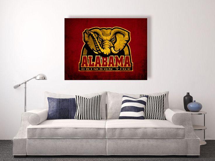 Alabama Wall Decor 24 best college memories canvas wall art images on pinterest