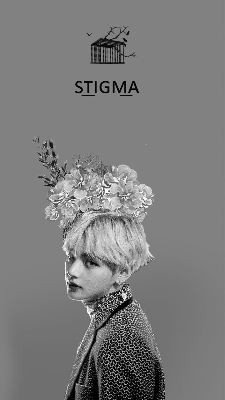 BTS / Taehyung / Wings / Wallpaper