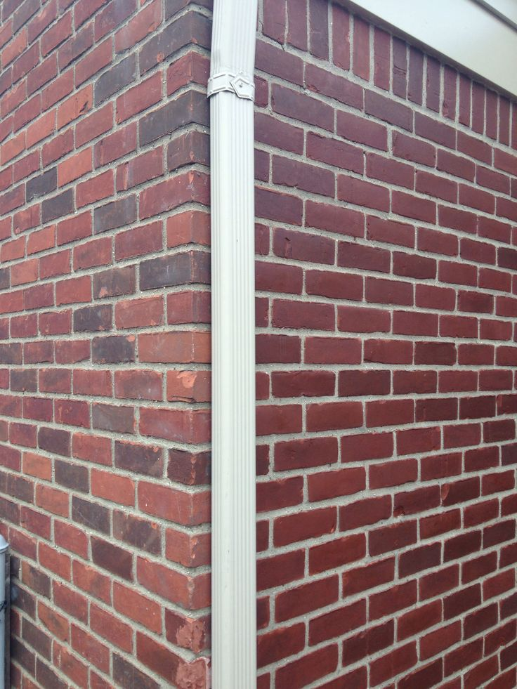 Brick Exterior: Staining My Brick Exterior. I Used Behr Concrete Stain In