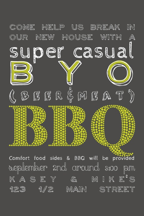 41 Best Barbeque Party Invitations Images On Pinterest
