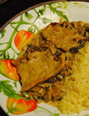 """Невыразимая легкость кулинарного бытия...: Телятина с грибами в соусе """"Марсала"""""""