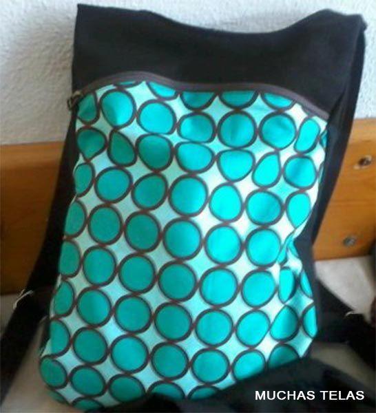 Patterns et explications pour faire un sac à dos - Blog de Many TelasBlog of Many Telas