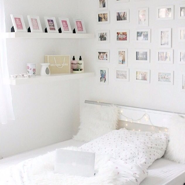 Innovative White And Pink Bedroom Ideas
