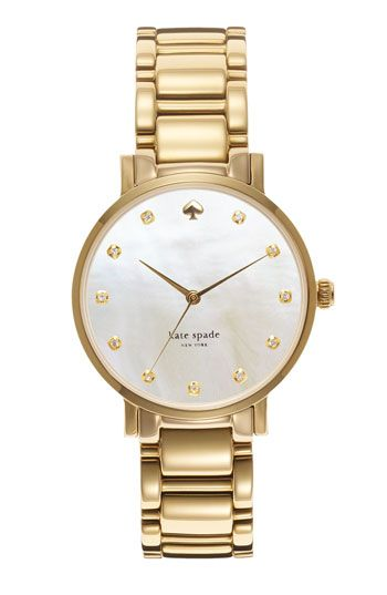 kate+spade+new+york+'gramercy'+crystal+marker+watch,+34mm+available+at+#Nordstrom
