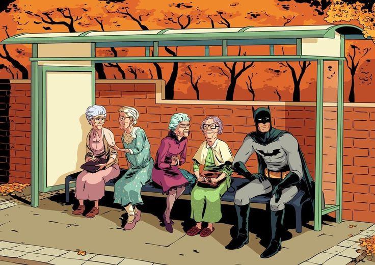 Batman & The NaNaNaNaNas!
