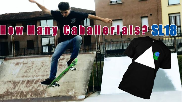 How Many Caballerials In a Row??    SL18 + Namoy T-Shirts