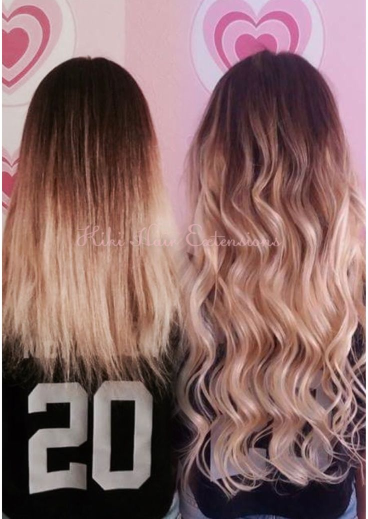 Hair extensions long hair ,ombre , remy ,Waves