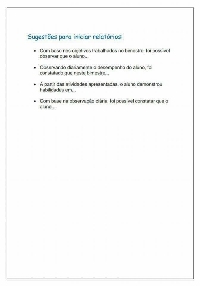 Avaliacao Psicopedagogica Sugestoes Para Imprimir Iªparte