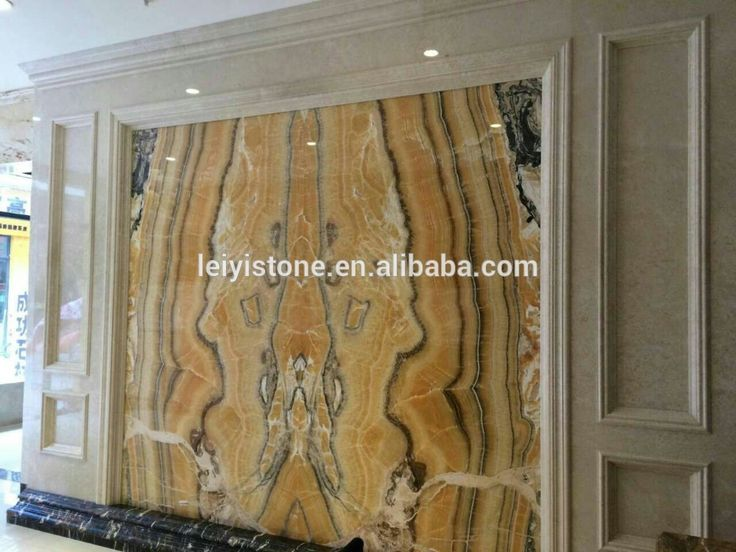 Chinese Yellow Onyx Marble Yellow Orange Onyx Backlit Onyx wall Panel