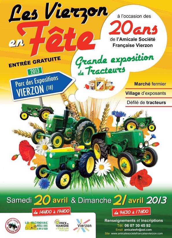 Manifestations 2013 - Ville de Vierzon