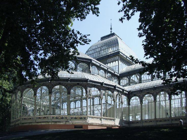 palacio de cristal de madrid - Google Search