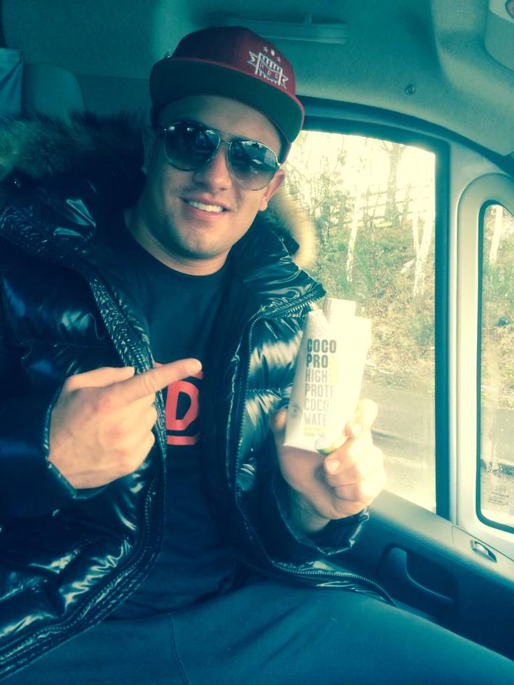 Sonny Webster enjoying his #CocoPro