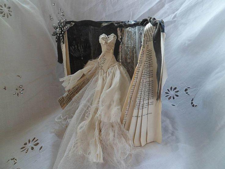 Art Dress Assemblage - Miss Havisham | Assemblage Art