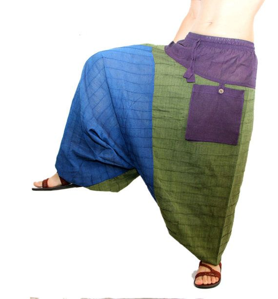 Harem Pants with pockets Aladdin Pants Harem by manaKAmana