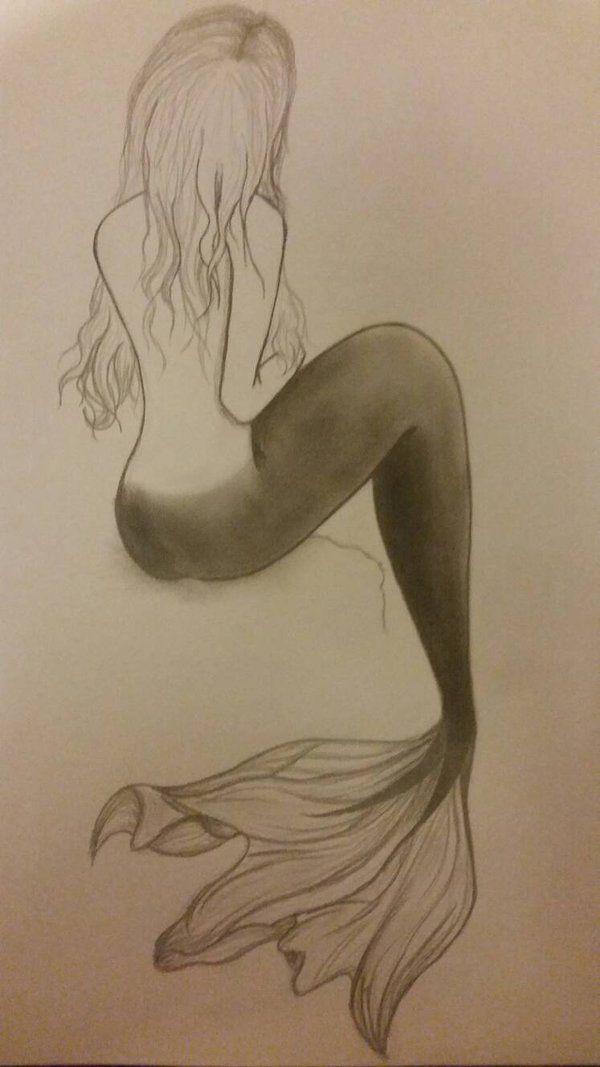 mermaid sketch                                                                                                                                                                                 More