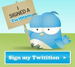 You should also sign this one while you're there. twitition - Ban PlasticBieber and PlasticKimmy from Twitter.