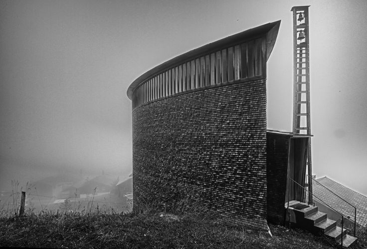 Ad classics saint benedict chapel peter zumthor peter for Ad architects