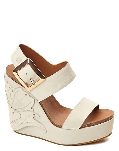 Lucky Brand Stillwater Studded Wedges I want so many wedges