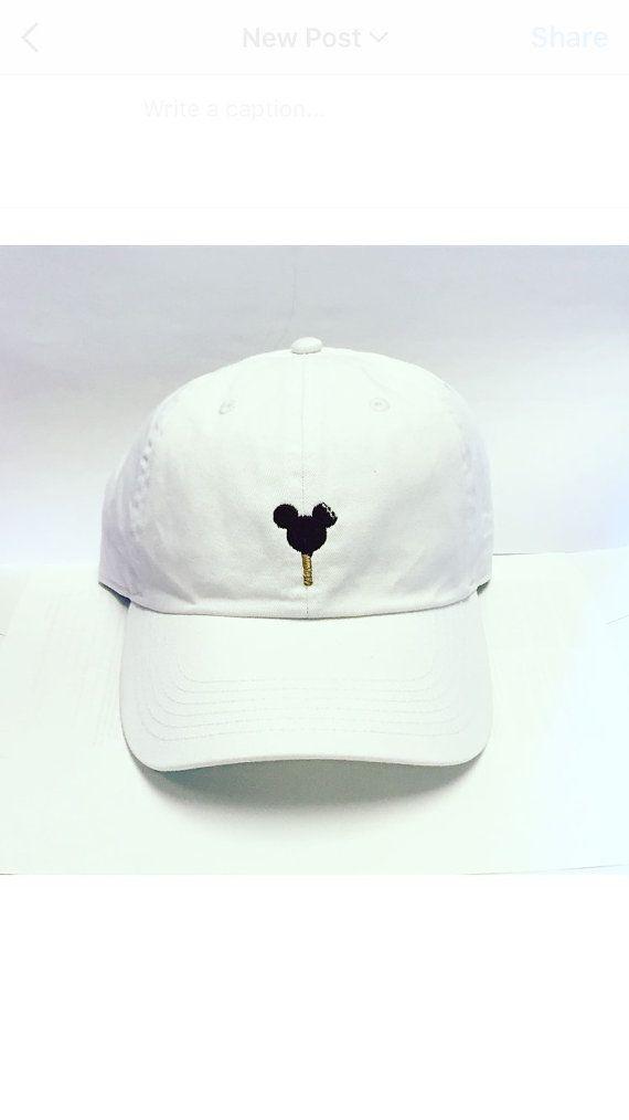 Mickey Ice Cream Bar Baseball hat Disney by 999Spyglass on Etsy