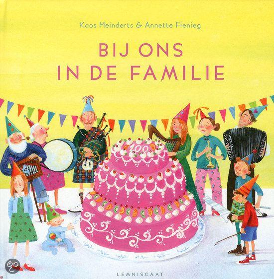 Bij ons in de familie Mooie gedichten en geweldige illustraties over een muzikale familie