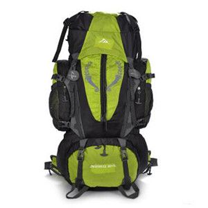 80L Outdoor Climbing Bags Unisex Oxford Sports Waterproof Hiking Travel Camping Mountaineering Climbing Backpack