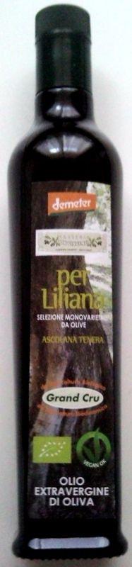 """Extra natives Olivenöl """"Masseria Don Vincenzo"""" Grand Cru """"Per Liliana"""" von Zimarino hergestellt"""