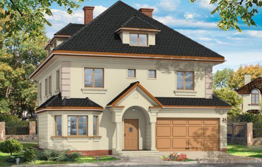 Проект дома Агат - Проекты двухэтажных домов #Проектдома #Агат