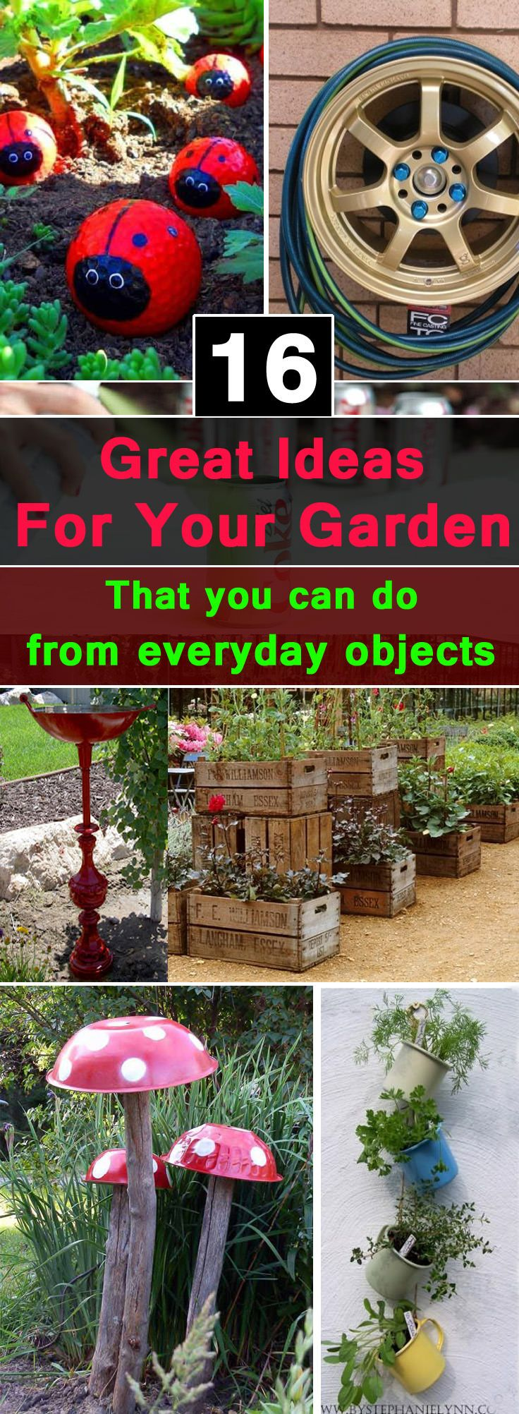16 Great Ideas For Garden That You