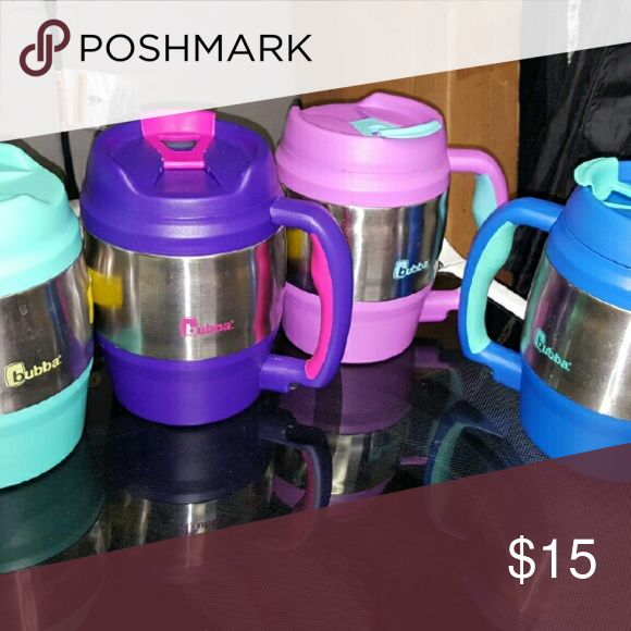 Bubba thermos 52oz mug pink I  buy wholesale items  Items come in as is  Thermos with bottle opener large in size Price is for 1 of your choice in color  Pink one is my last one Other