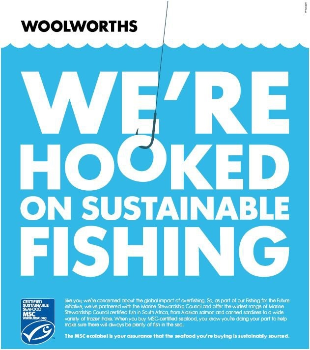 We've excited to announce that we've partnered with the Marine Stewardship Council (MSC) and offer the widest range of MSC certified fish in South Africa, from Alaskan salmon and canned sardines to a wide variety of frozen hake. The MSC ecolabel is your assurance that the seafood you're buying is sustainably sourced. By buying MSC-certified seafood, you're helping to make sure there will always be plenty of fish in the sea.