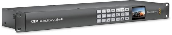 The Blackmagic ATEM Production Switcher is designed with chroma key, transitions, media pool, downstream keyers, and audio mixer that makes it easy to use.