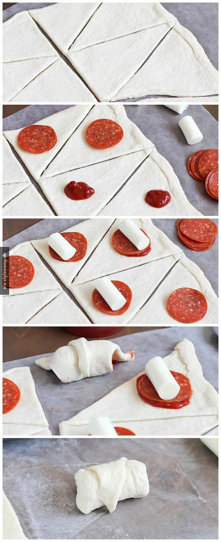 Pizza Röllchen